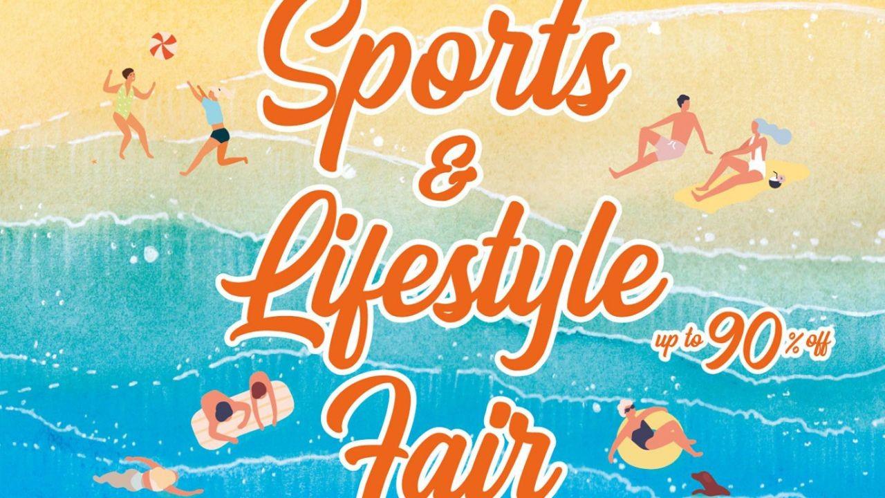 Diskon Sebesar 90% Di Sports & Lifestyle Fair Time Square Bazaar s/d 19 Juli 2021