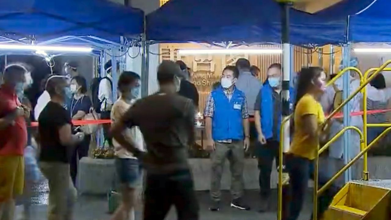 Area Lockdown Di Wan Chai & Taikoo Shing Telah Dibuka Kembali 21 Juli 2021 Sekitar Pukul 07.00