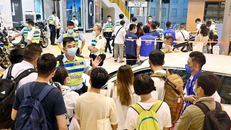 Pada Hari Rekrutmen Pihak Kepolisian Hong Kong Pada Tanggal 29 Agustus 2021 Sebanyak 1066 Orang Yang Hadir, 411 Orang Di Antaranya Langsung Mengikuti Ujian