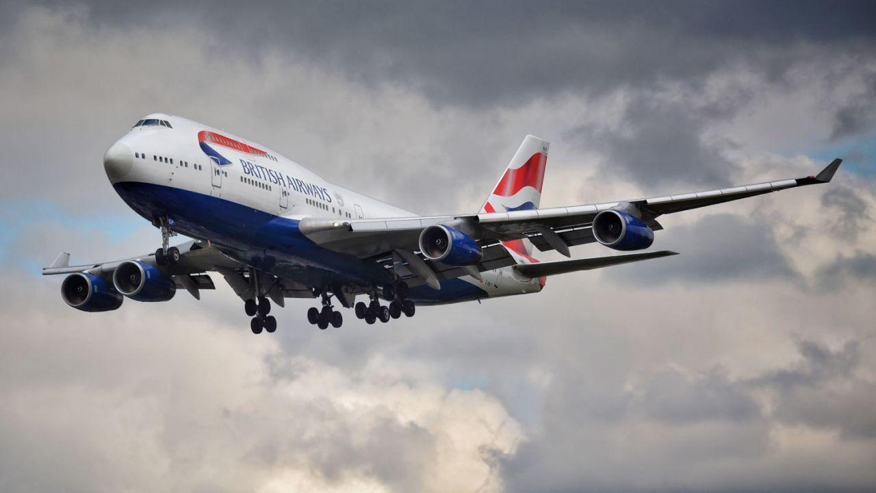 Penerbangan British Airways Jalur London - Hong Kong Dilarang Mendarat Di Hong Kong s/d 25 Desember 2020